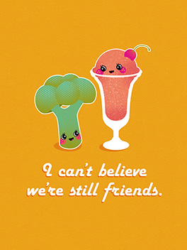 friends friends rule card