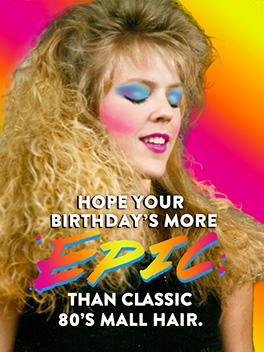 radical! birthday card