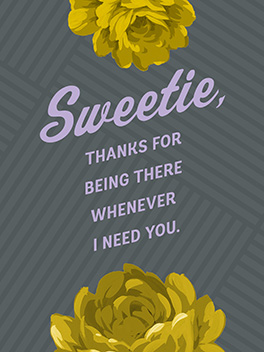 24/7 mother's day card