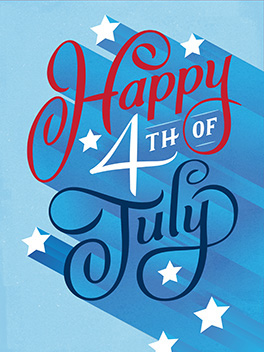 celebrate! 4th of july card