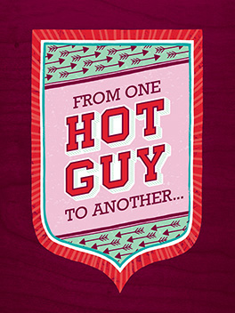guy to guy valentine's day card