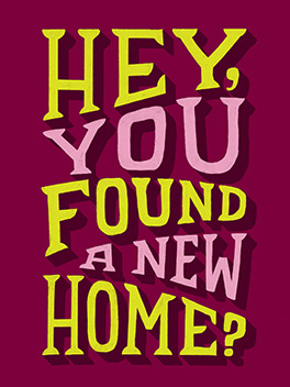 lost/found new digs card