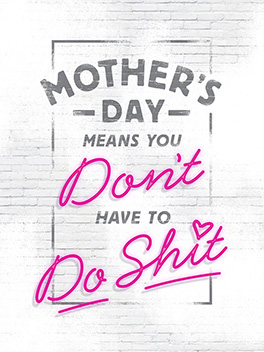 none of that mother's day card