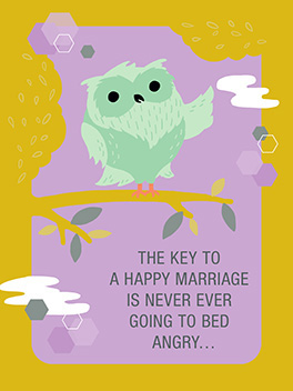 wisdom the big day card