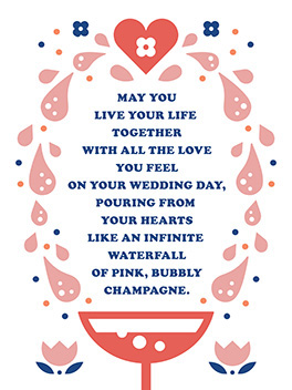 forever starts now the big day card