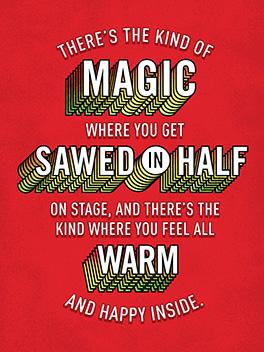 holiday magics christmas card