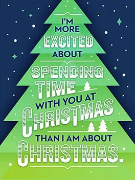 sup, fam christmas card