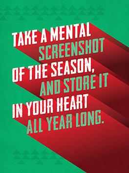 holiday screenshot season's greetings card