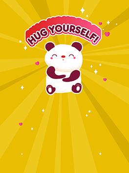 hug yourself! valentine's day card