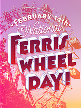 yay, ferris wheels! card