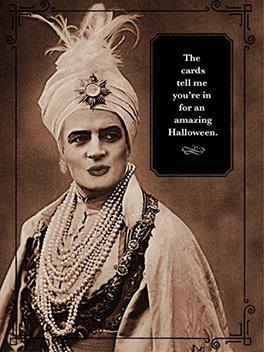 halloween fortune halloween card