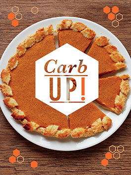 carb up! thanksgiving card