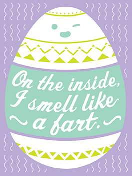toot! easter card