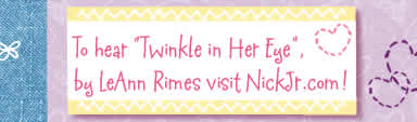 Click here to hear Twinkle in Her Eye, by Leann Rimes