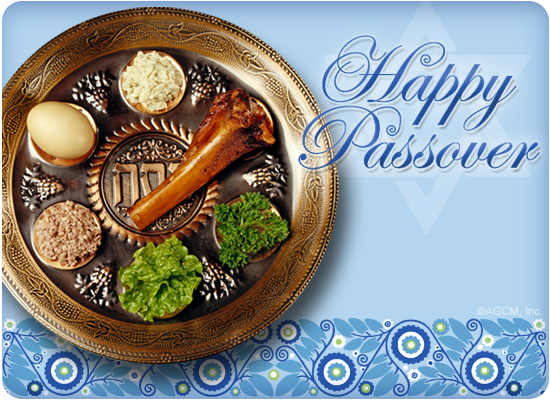 happy passover ecard (postcard) - american greetings