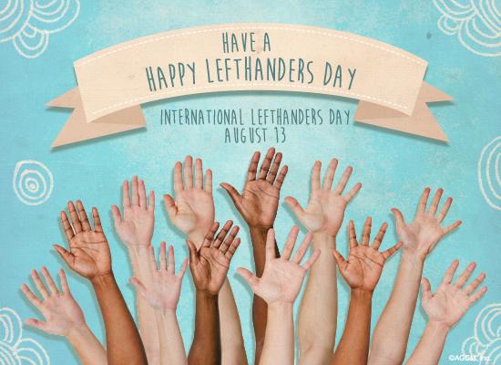 8 13 happy lefthanders day postcard american greetings