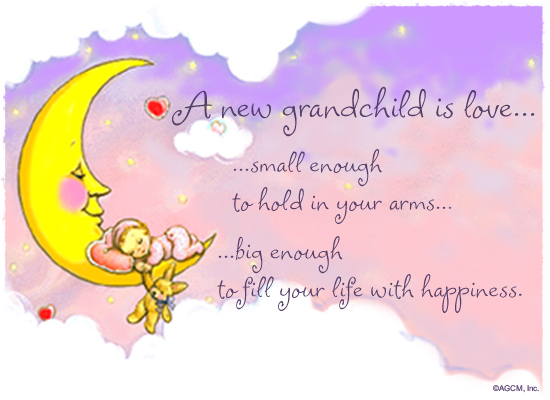 A grandchild is love ecard postcard american greetings reviews m4hsunfo