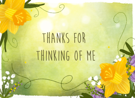 Spring thanks reply american greetings spring thanks reply m4hsunfo