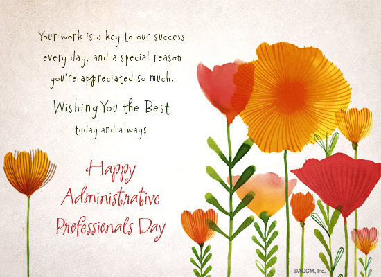 Administrative professionals day invitation kubreforic administrative professionals day invitation m4hsunfo