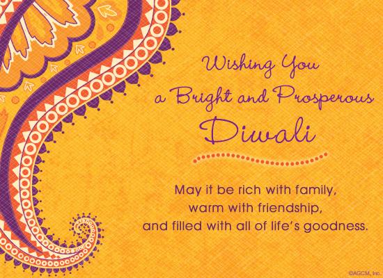 Bright and prosperous diwali postcard american greetings bright and prosperous diwali ecard postcard m4hsunfo