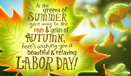 A relaxing labor day ecard postcard american greetings reviews m4hsunfo
