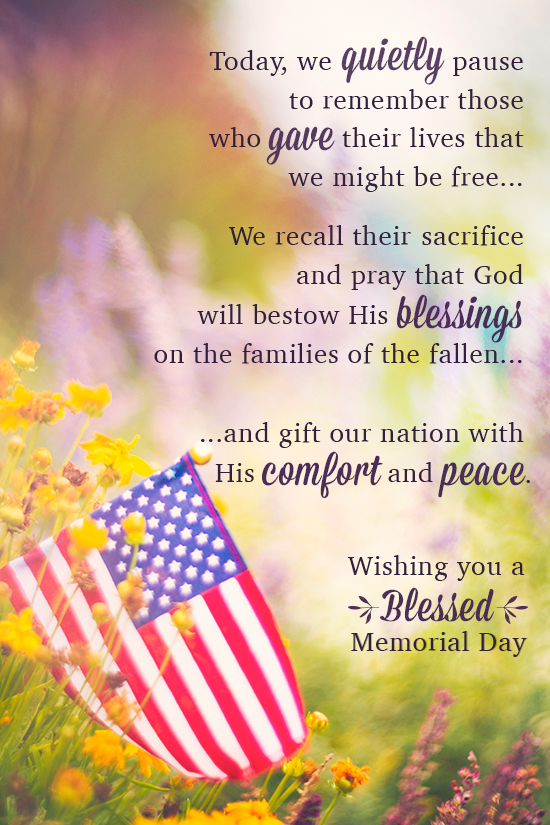 Image result for remember our fallen memorial day blessings images
