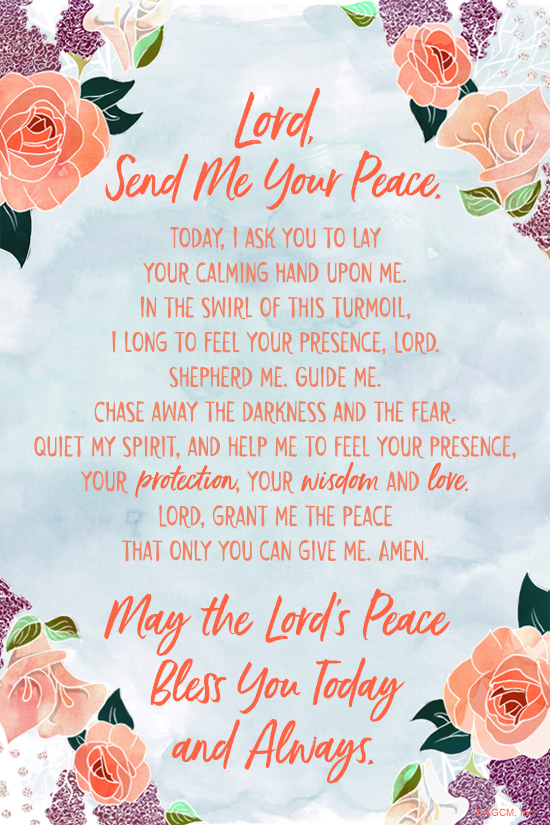 A Prayer for Peace (Postcard) - American Greetings