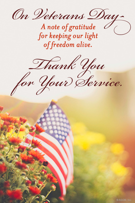 Thank You For Your Service Ecard American Greetings