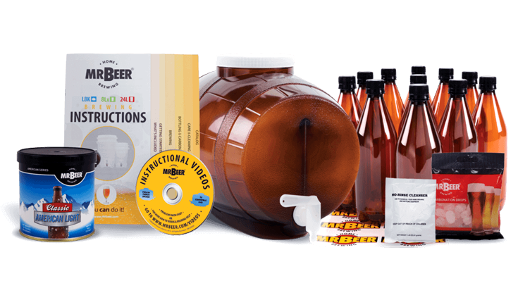 fathers day gifts - beer making kit