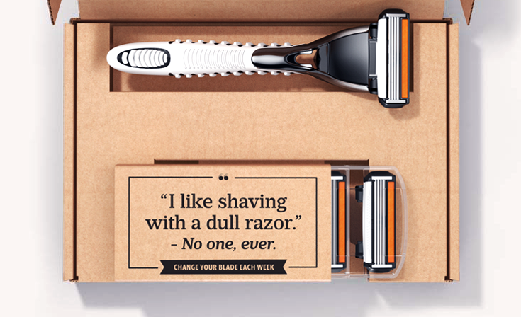 fathers day gifts - dollar shave club