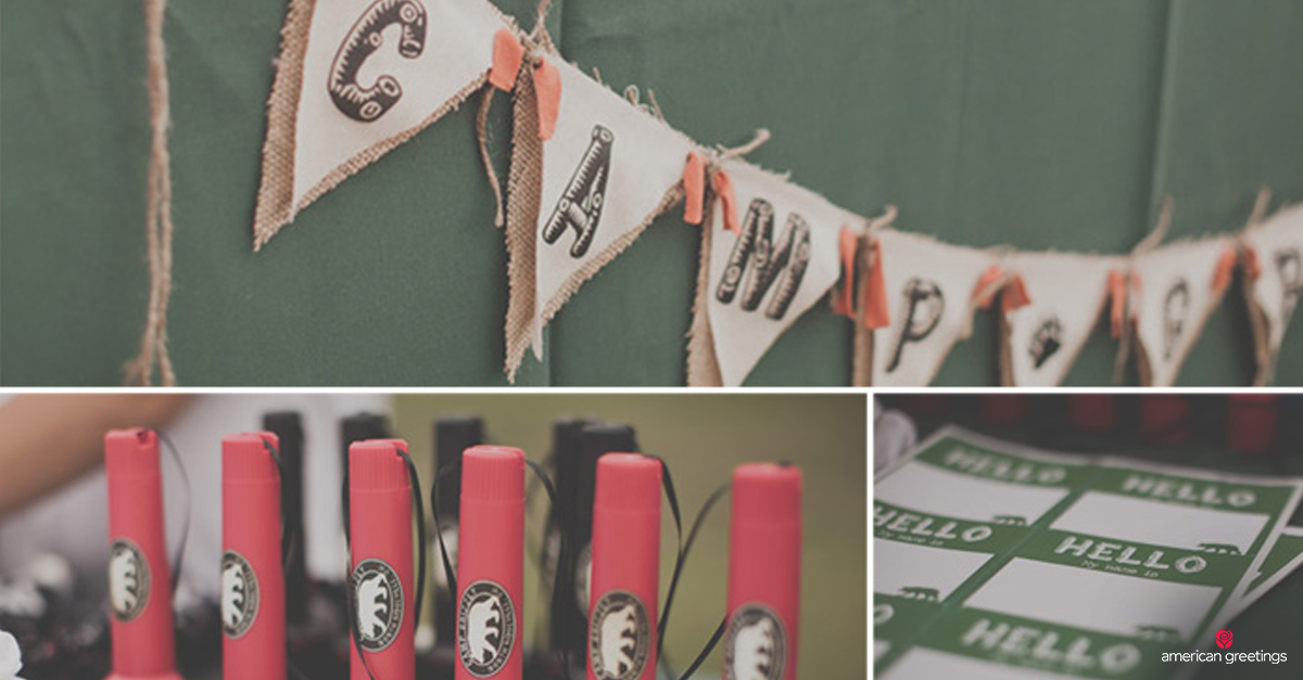 A Camping Birthday Party Idea for Outdoor Adventurers