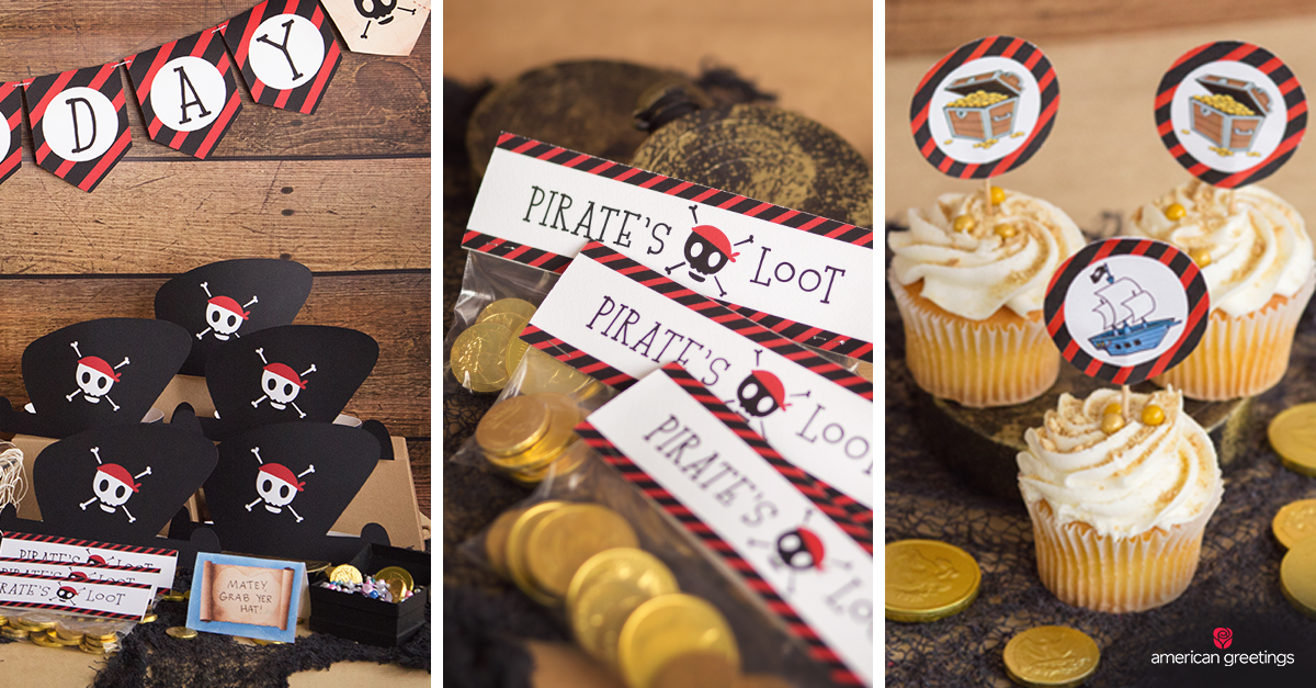 Pirate Themed Birthday Party Ideas