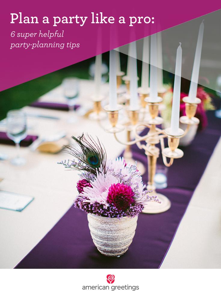 Plan a Party Like a Pro