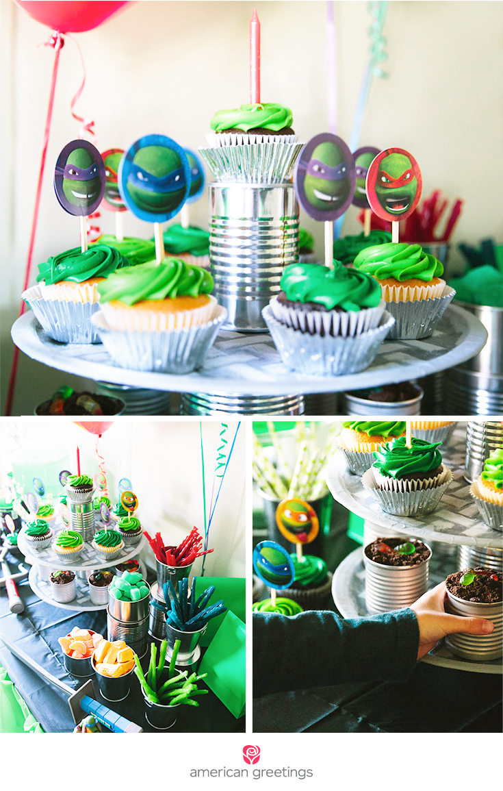 Teenage Mutant Ninja Turtles Party Treats