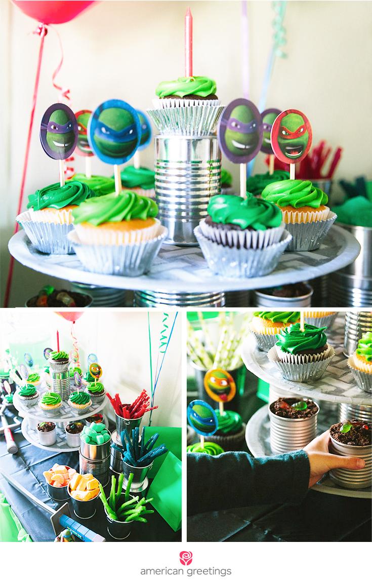 Teenage Mutant Ninja Turtles Party Treats