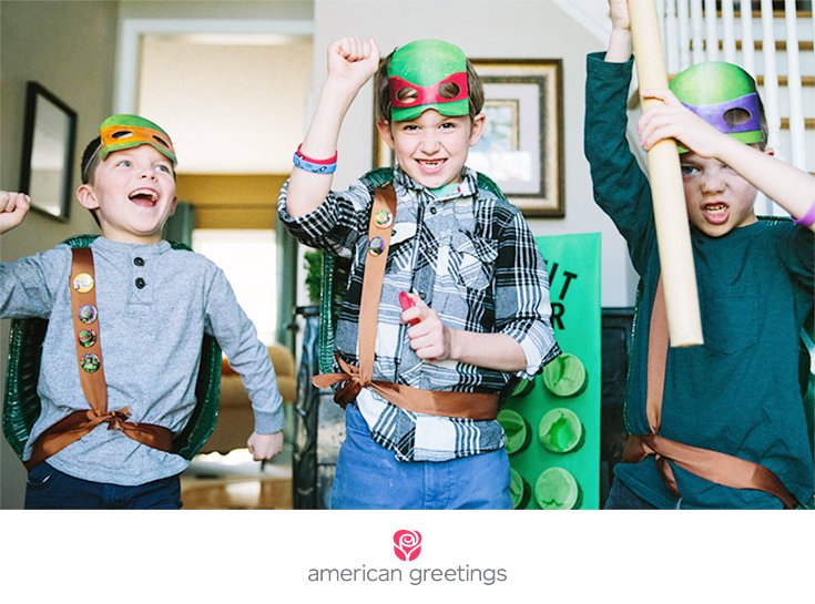 Party ideas for your little Ninja Turtles