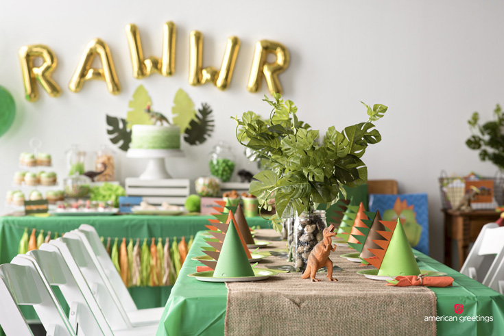 Dinosaur Themed Birthday Parties