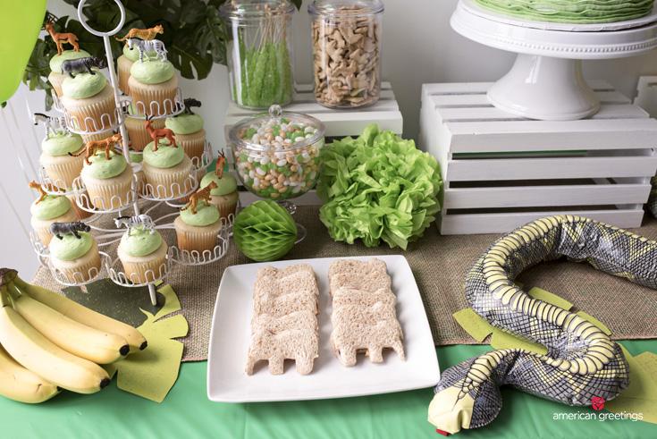 Easy jungle birthday party ideas
