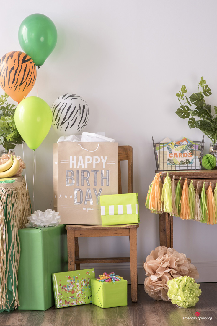 Jungle birthday party supplies