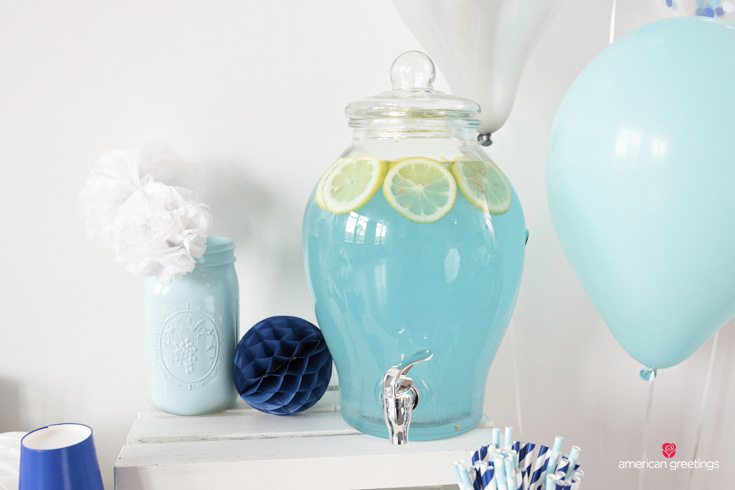Refreshing Blue Party Punch