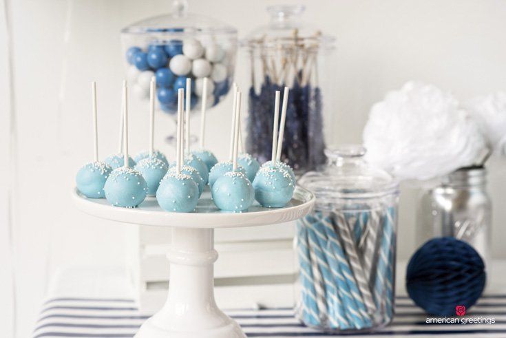 Sweet Blue Treats for a Birthday Party