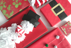 Christmas Gift Wrap Ideas - Media Banner