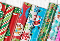 Christmas Gift Wrap - Media Banner