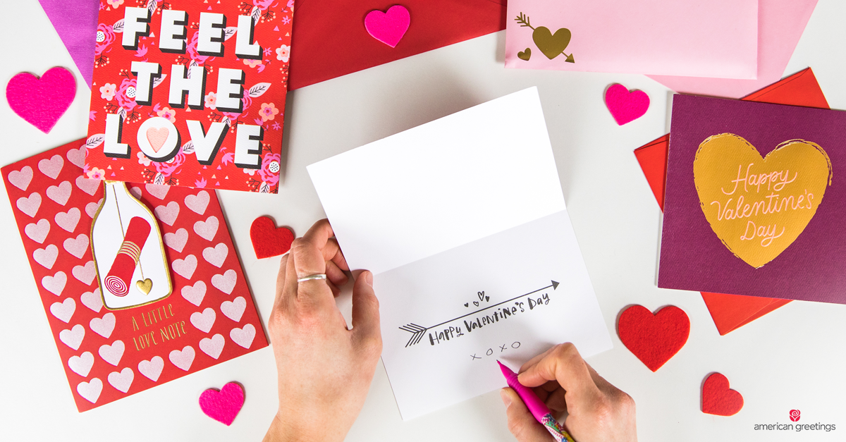 What To Write In A Valentine S Day Card American Greetings