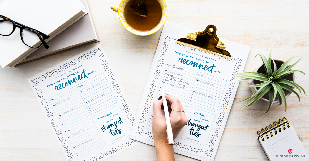 Hand writing on printable page held with a clipboard