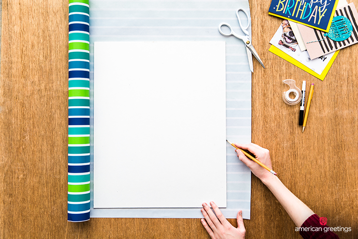 Remember every birthday with this DIY Birthday Wall Calendar - Step 1