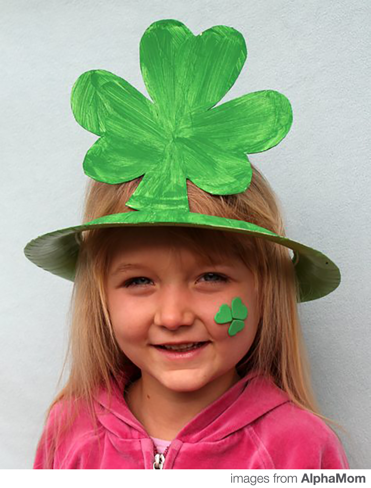 St. Patricks Day DIY Hat Craft