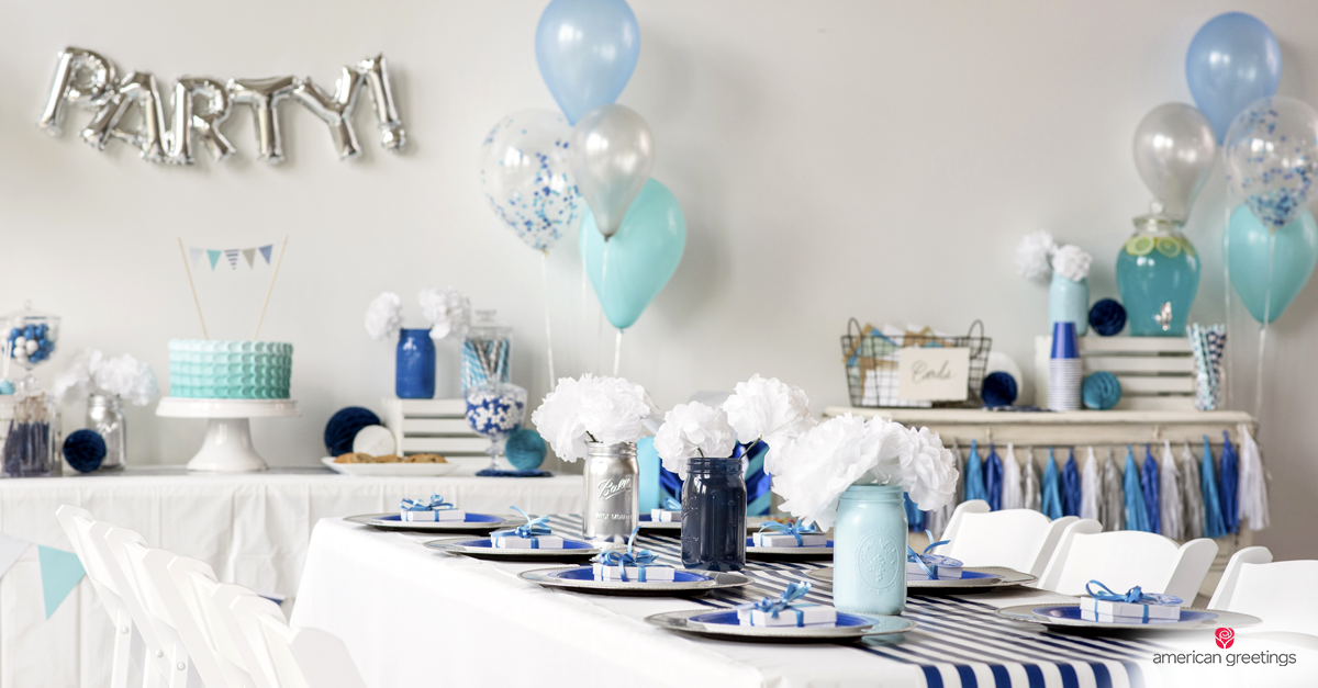 Blue Birthday Party Ideas American Greetings