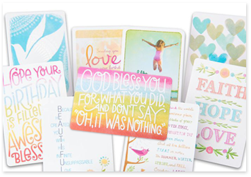 Printable baptism cards