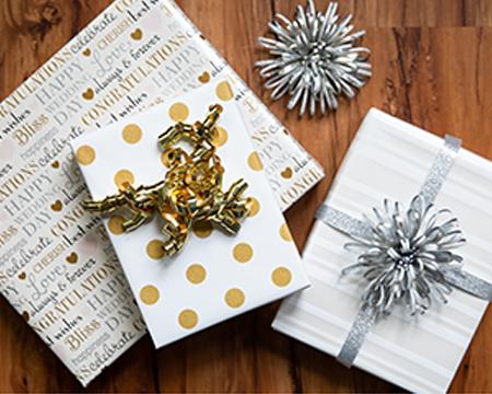 Gift bows and ribbons